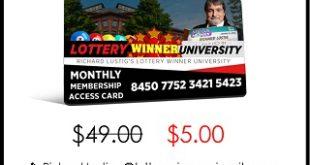 Lottery Winner University