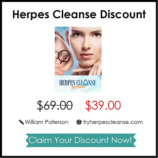 herpes cleanse